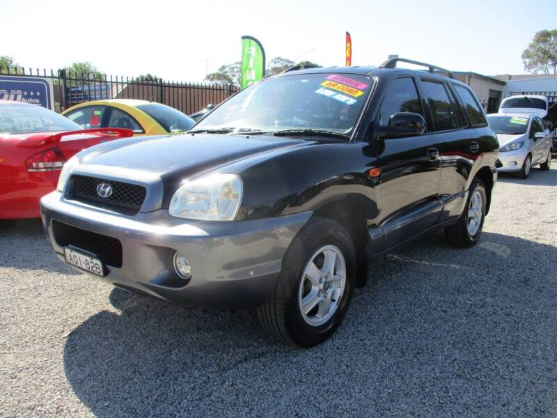 2003 HYUNDAI SANTA FE GLS AWD,AUTO,LOW KMS,LEATHER,SERVICED! 1 Of 10