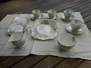 Vintage Bell China set 'Meadowside' pattern Shortland Newcastle Area Preview