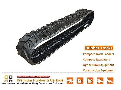 Rubber Track 300x52.5x84 Komatsu Pc 27mr 30mr 35mr 38uu Hitachi Ex 33 Excavator