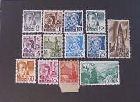 Germany Germania Bizone Post Reich Baden 1947,personalità E Vedute, 13v Cpl Mh -  - ebay.it