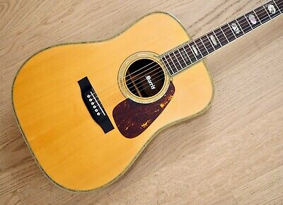 1991 Morris TF-80 Vintage Dreadnought 45-Style Acoustic Guitar Rosewood w/ Case