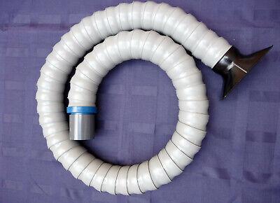 Loc-line Vacuum Hose 2.5 Id 6 Foot Total Length W Rectangular Nozzle