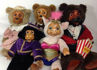 Robert Raikes 1994 Original CIRCUS Collection Bear Set -Lot of Five