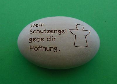 Handschmeichler Wegbegleiter aus  Holz  Nr. 202  Schutzengel Hoffnung Geschenk