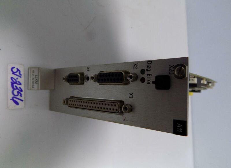 HAAS-LASER INTERFACE CONTROL BOARD LLKM 18-21-40-00/04