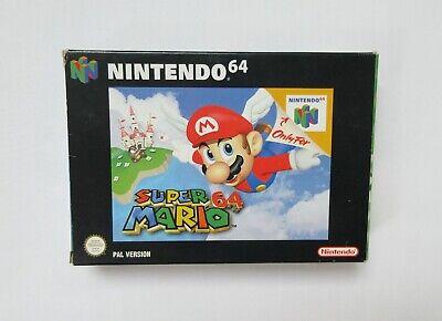 N64 Super Mario 64 PAL CIB Good Condition