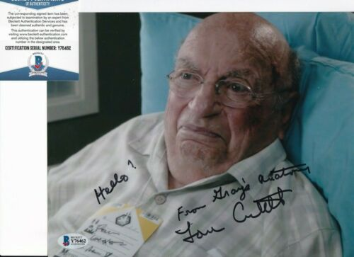 LOU CUTELL signed (GRAY'S ANATOMY) autographed 8X10 photo BECKETT BAS Y76462