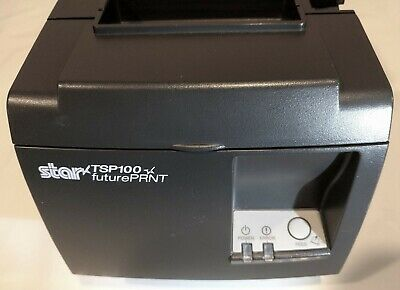 Star Tsp100 Receipt Printer Futureprnt Thermal 4 Rolls Paper - Video -