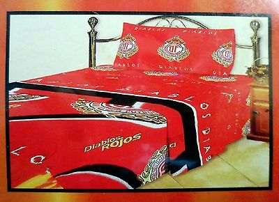 Deportivo Toluca Licensed Colap Twin Sheet Set