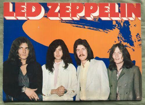 SALE! Led Zeppelin 1971 JAPAN TOUR BOOK concert program OTHERS LISTED