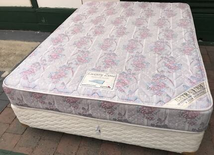 Excellent queen bed base with mattress for sale. Pick Up or deliv