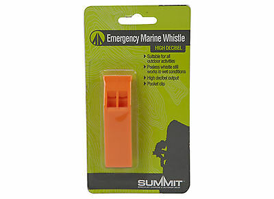 EMERGENCY PERRY/MARINE WHISTLE - SURVIVAL / SAFETY/ HIKING/ BOATING/ CAMPING