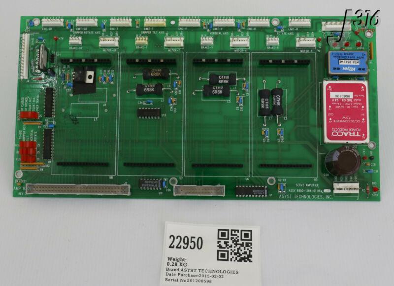22950 Asyst Technologies Pcb, Servo Amplifier 6900-1284-01
