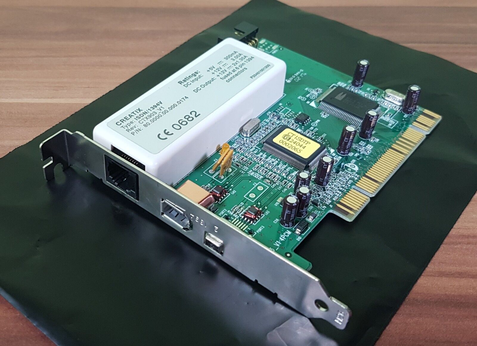ISDN Modem Firewire Controller IEEE1394V Creatix CTX903_V1 PCI Medion