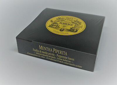Mariage Freres - MENTHA PIPERITA - Box 30 muslin tea sachets / (Organic Muslin Tea Bags)