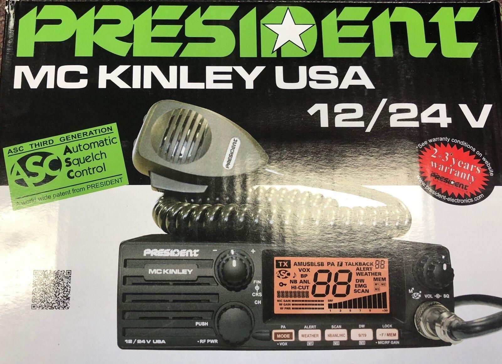 mckinley ssb cb radio 12