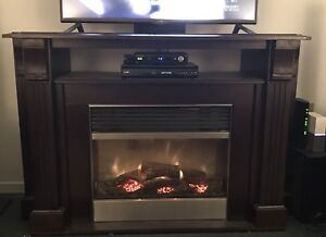 Electric Fireplace with Mantle TV Stand - Beautiful!!!!