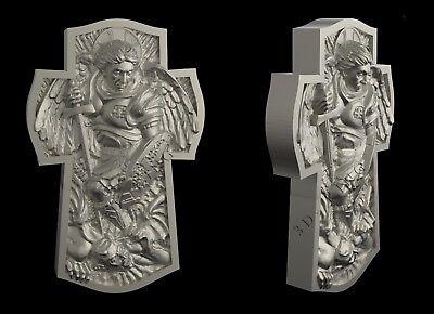 3D STL Model # THE CROSS 1 # for CNC Aspire Artcam 3D Printer 3D MAX Rhino ()