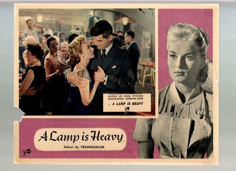 Lamp Is Heavy-George Baker-Belinda Lee-Delphi Lawrence-11x14-Color-Lobby Card