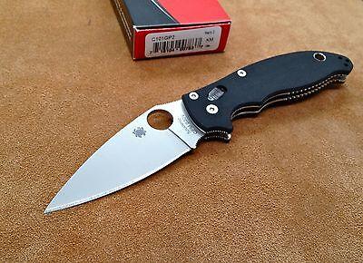 Spyderco Manix 2 Folding Knife Gen 2 G-10 C101GP2 S30V steel Flat Ground