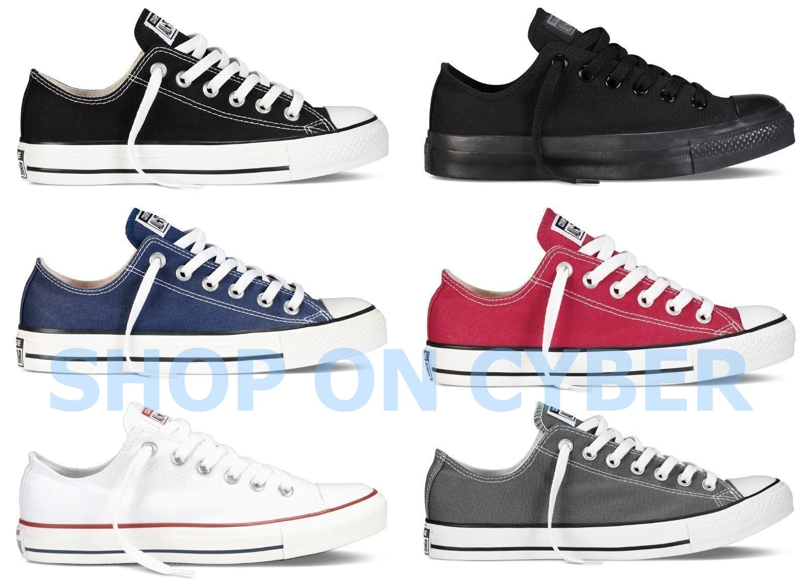 Converse All Star Chuck Taylor Canvas Shoes Low Top All Size Brand New