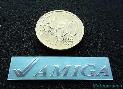 Commodore Amiga Label / Aufkleber / Sticker / Badge / Logo [132]