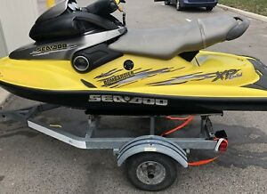 seadoo xp limited 951cc with trailer rebuilt engine