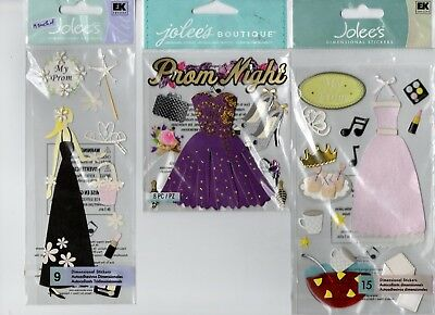 Jolee's PROM themed embellishment stickers~BNIP~CUTE! Quick Ship!