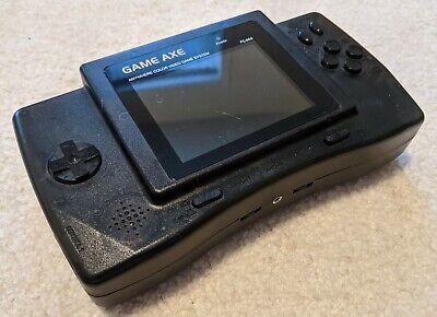 Game Axe handheld Famicom FC-868 portable Nintendo NES color console Redant