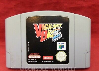 VIGILANTE 8 2ND OFFENSE - OFFENCE - USED CART ONLY - NINTENDO 64 N64 - UK
