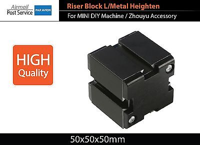 Mini Lathe Drilling Mill Sand Machine Riser Block L Metal Heighten Zhouyu Z030mb