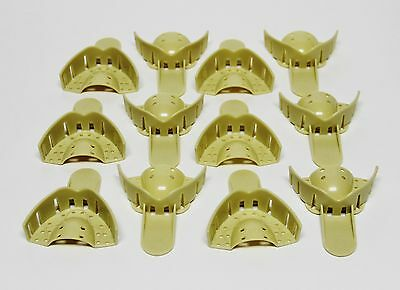 Dental Grillz Upper Anterior Teeth Plastic Mold Impression Trays Ua 9 12bag