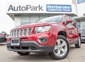 2017 Jeep Compass Sport/North 4X4 | SUNROOF | HEATED LEATHER