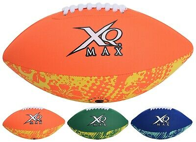 XQMAX Neopren American Football Beach Sport Strand Neoprenball Wasserball Ball ()