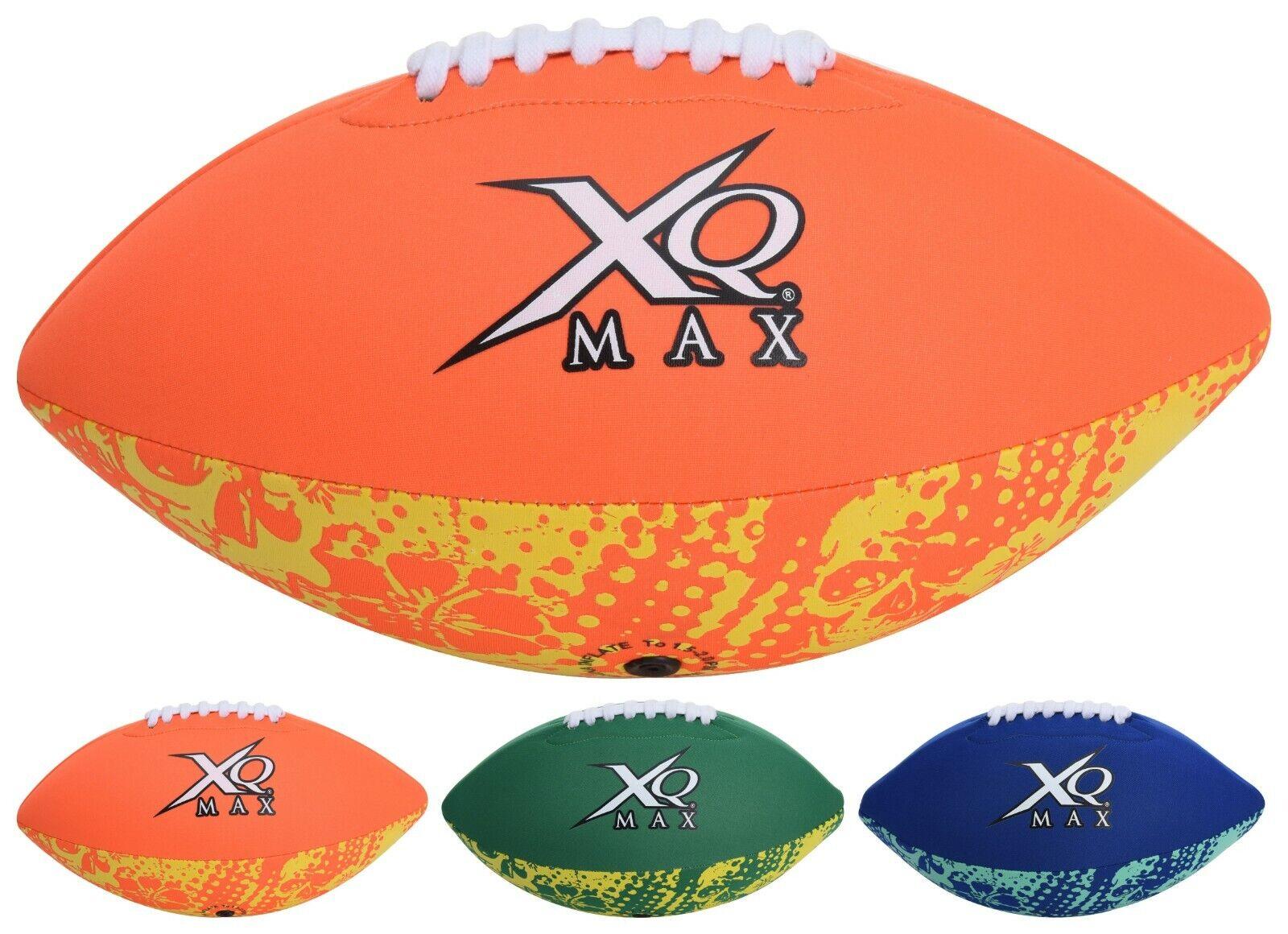 XQMAX Neopren American Football Beach Sport Strand Neoprenball Wasserball Ball