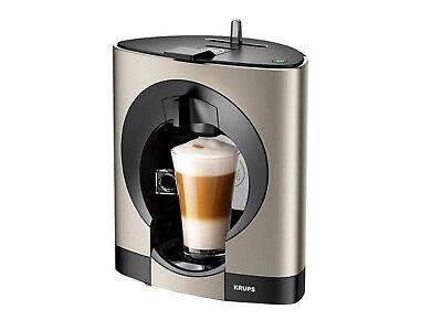 Titan Kaffeemaschine ( Krups Oblo KP110T titan Nescafé Dolce Gusto Kapselmaschine Kaffeemaschine Neu)