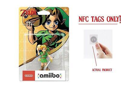 Majora's Mask Fierce Deity Link Amiibo Zelda: Breath of the Wild -NFC TAG