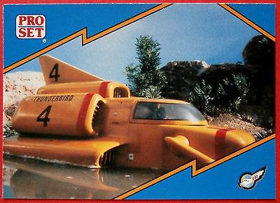 Thunderbirds PRO SET - Card #045 - Thunderbird 4, Surface Speedster - 1992