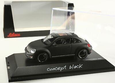 Vw Beetle coupé noir 1/43