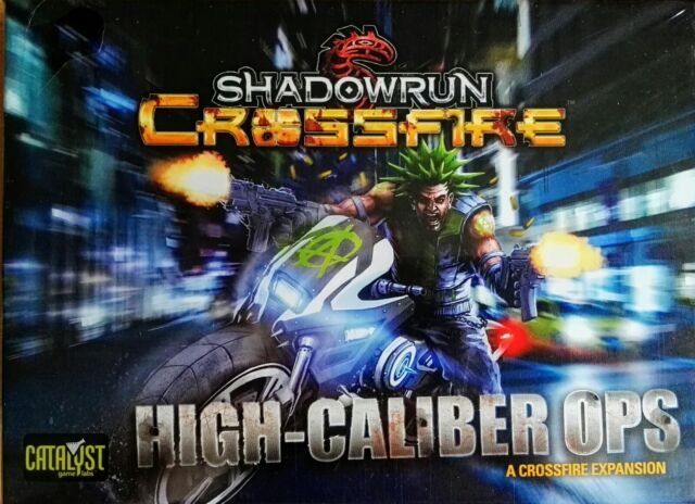 Shadowrun Crossfire High-Caliber Ops Expansion Pack - NEW - UK SELLER
