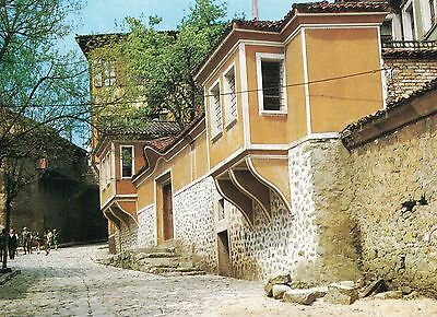 Alte Postkarte - Plovdiv - In der Altstadt