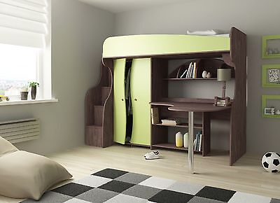 hochbett kinderbett etagenbett. Black Bedroom Furniture Sets. Home Design Ideas