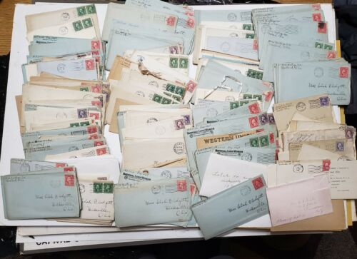 Massive lot of letters from WWI soldier to his wife from 1915-1920 homefront