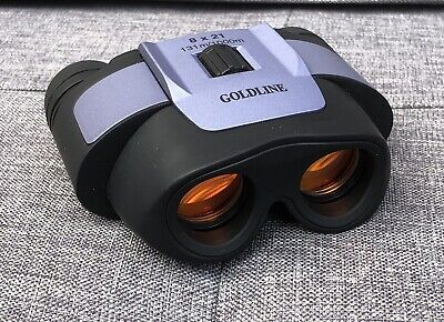 Goldline Foldable Compact Binoculars 8x21 Excellent Condition