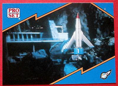 Thunderbirds PRO SET - Card #018, Night Mission Thunderbird 1 - Pro Set Inc 1992