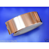 Copper Foil Tape EMI shielding for Guitar/Slug and snail barrier 2'x50mm