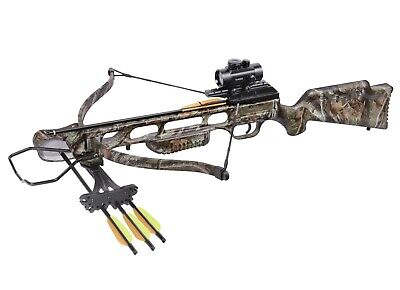 Crosman Center Point XR175 Recurve Crossbow 175 FPS with Red Dot Sight AXR175C