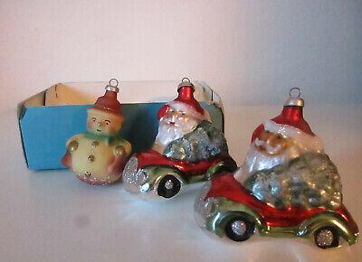 vintage palline in vetro x albero di babbo natale-christmas-