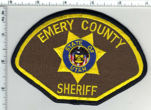Emery County Sheriff (Utah) Shoulder Patch from the 1990