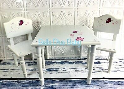 18 Inch Doll Wooden Dining Set